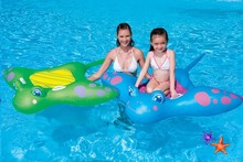 New Devilfish Inflatable Water Rider for Baby Swimming Inflatable float on pool water toys, size150*114cm(China)