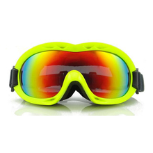 Children Ski Goggles, Girls Boys Plating Lens Kids UV400 Snowboard Water Resistance, Anti-fog Wear RX Glasses - EnzoDate Sports store