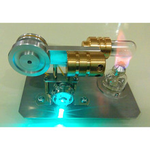 Cool !Miniature Stirling engine 'Fly Fish' Stirling engine engine generator model hobby Educational Toy Kits(China)