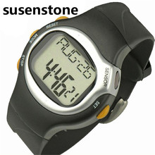 susenstone Famous Brand 2017 New LED Pulse Heart Rate Monitor Calories Counter Fitness Watch Brand Male Clock Relogio Masculino