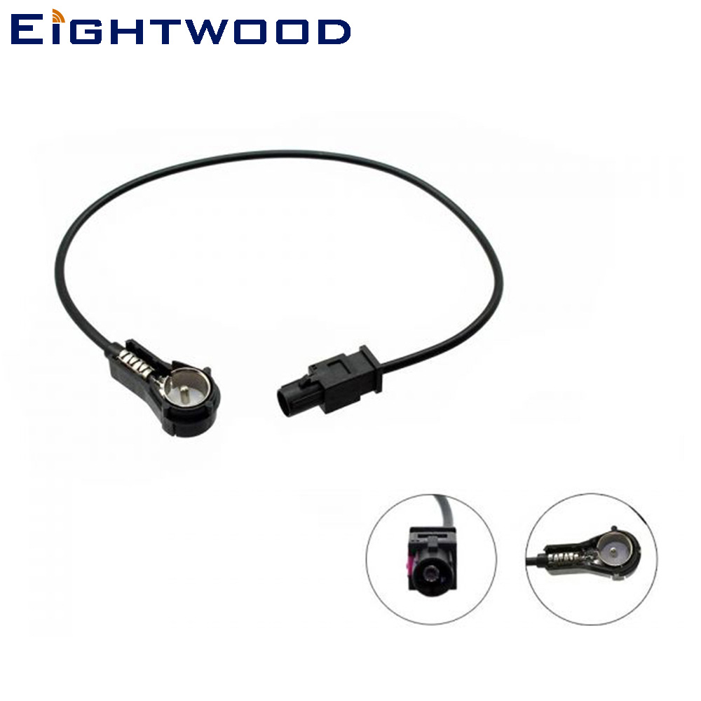 Landrover Discovery Car Aerial CD ISO to DIN Antenna Adaptor for Car Radio