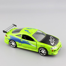 1/32 Scale small jada Brian's Mitsubishi Eclipse 1995 FAST & FURIOUS metal die casting model race cars truck toys for children