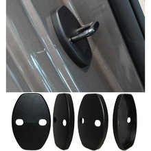 Car Door Lock Cover For Volkswagen Tiguan Polo Passat B5 B6 B7 Skoda Octavia A7 Fabia Superb Golf 6 Golf 7 Jetta MK5 MK6 4pcs