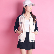 2016 New Sweater Coat Hoodies Sweatshirt Spring Winter Baseball Jacket Women Basic Coat Long-Sleeved Warm bomber jacket Women
