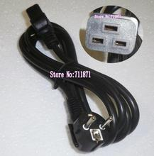 1.8M UPS Server European Power Cord JL301 Europe to C19 Power Line 16A/250V power supply cord 3X1.5mm square Power Wire(China)