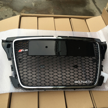 RS3 Style Front Bumper mesh Grill center Grille for Audi A3 S3 RS3 2009~2012