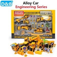 Free Shipping  1:50 Simulation Engineering Series Alloy car,Engineering Vehicle,Excavator,Truck Model Toys for Children Gift