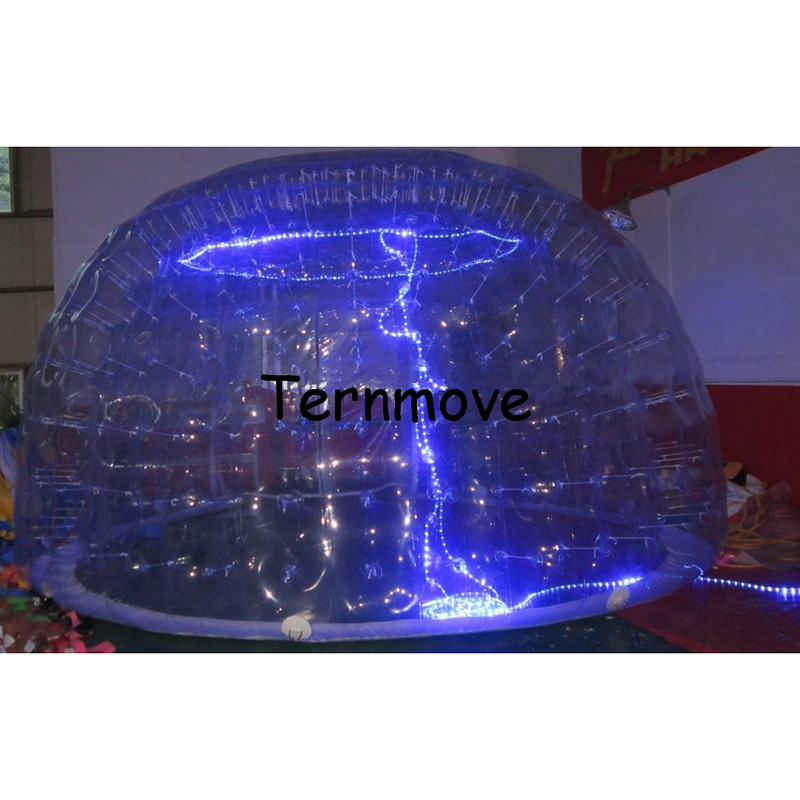 Led-tent-LED-double-layer-inflatable-bubble