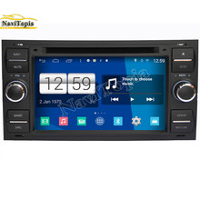 NAVITOPIA S160 Black Car Styling Quad Core 16G 6.2'' Android 4.4.4 Car DVD Player for Ford focus old/for mondeo GPS Navigation