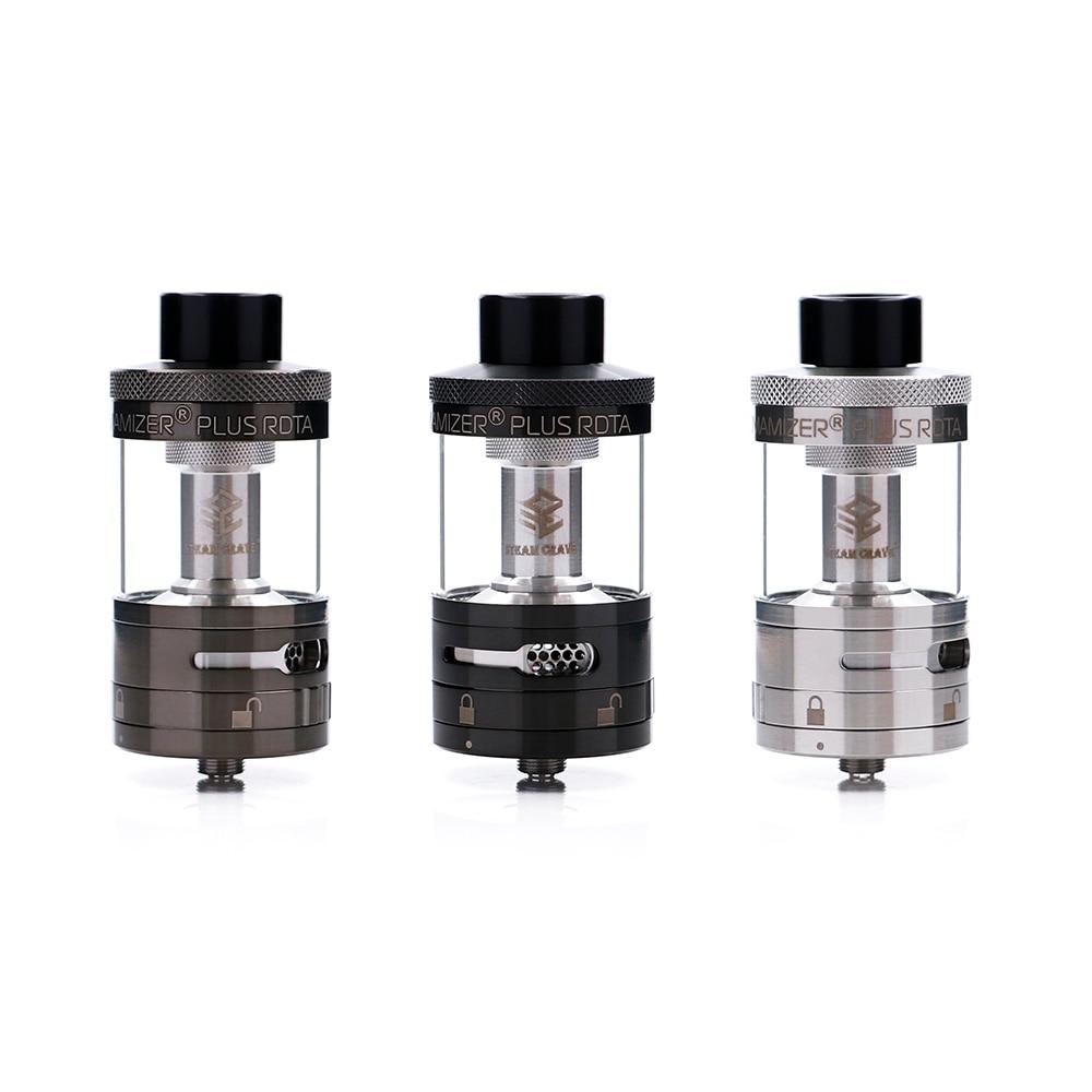 Original Steam Crave Aromamizer Plus RDTA 10ML e-liquid Enhanced airflow juice flow design RDTA tank electronic cigarette tank<br>