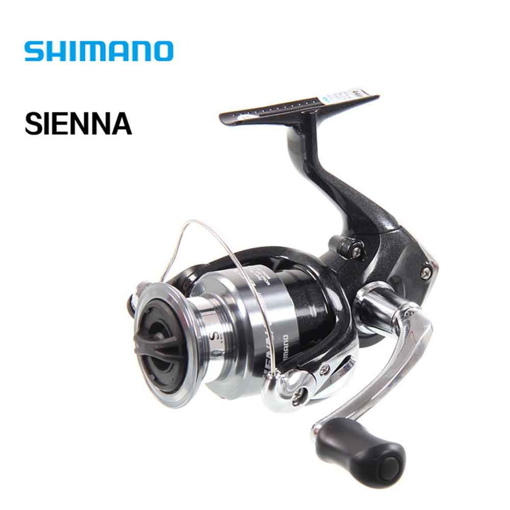 SHIMANO SIENNA 1000FE/2500FE/4000FE Spinning Fishing Reel 1+1BB with Aluminum Spool M-Compact Body  Spinning Fishing Reel<br>