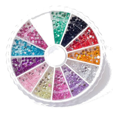 Best Sale 1200Pcs Rhinestone Crystal Premium Circular Diamond nail Decor 2mm Gemstones(China)