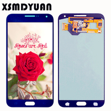 100% Tested 5.5'' SUPER AMOLED For SAMSUNG Galaxy E7 E700 E700F E7000 E7009 LCD Display Touch Screen Digitizer Assembly(China)