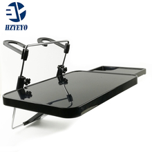 Free shipping  car laptop holder multi purpose vehicle folding computer desk dining table ,T2036