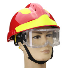 NEW Rescue Helmet Fire Fighter Protective Glasses Safety Protector Workplace Safety Fire Protection 53CM-63CM(China)