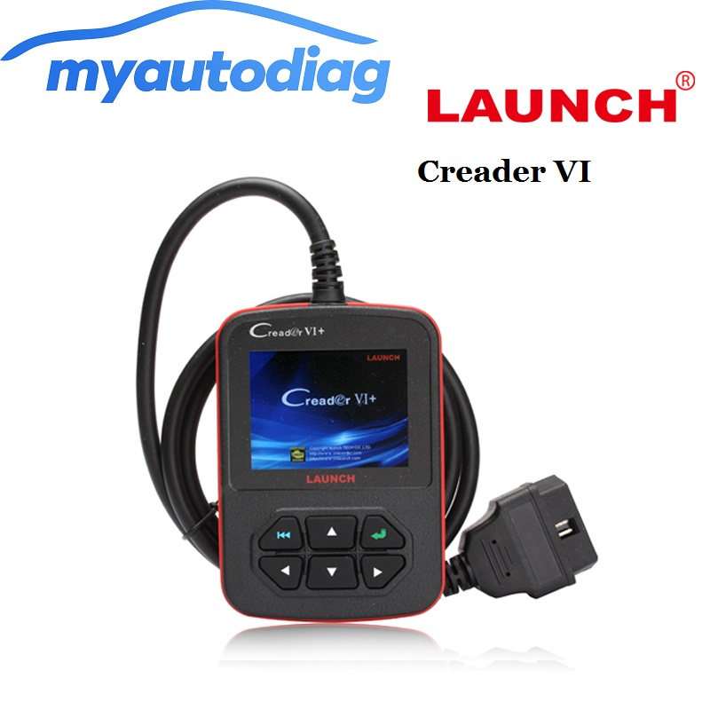 2017 100% Original Launch Creader 6+ support JOBD OBD code scanner creader VI+ VI Plus OBD2 OBDII diagnostic tool free shipping<br><br>Aliexpress