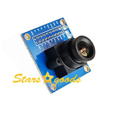 New OV7670 VGA Camera Module Auto Exposure Control Display Active 640X480 SCCB w/ I2C Interface For Arduino Robot 1Pcs