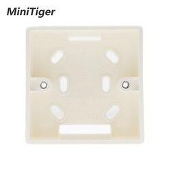 Minitiger внешний монтажный ящик 86 мм * 86 мм * 34 мм для 86 мм Стандартный сенсорный переключатель и розетка применяются для любого положения поверх...