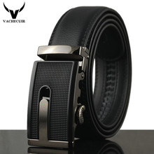 Fashion Cowhide Genuine Leather Mens Belt 130cm Stylish Brand Pants Strap Automatic Alloy Buckle Luxury Waistband cinturonesQ208