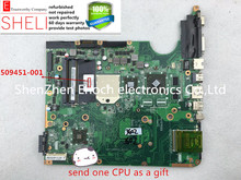 509451-001 for hp DV6 DV6-1000 for AMD motherboard with ATI graphics  DAUT1AMB6D0  send one AMD cpu as a gift  SHELI  stock