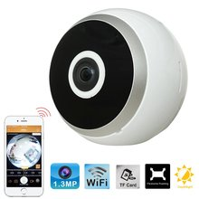 Easy installation 960P 1.3 Megapixel 360 degrees  Surveillance Wireless Mini Security VR Wide Angle IP Camera