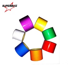 Car Sticker 5cm 2cm 1cm*5m Reflective Sheeting Tape Adhesive Film Reflect Auto Body Motorcycle Bike Vinyl Decal Style Decoration(China)