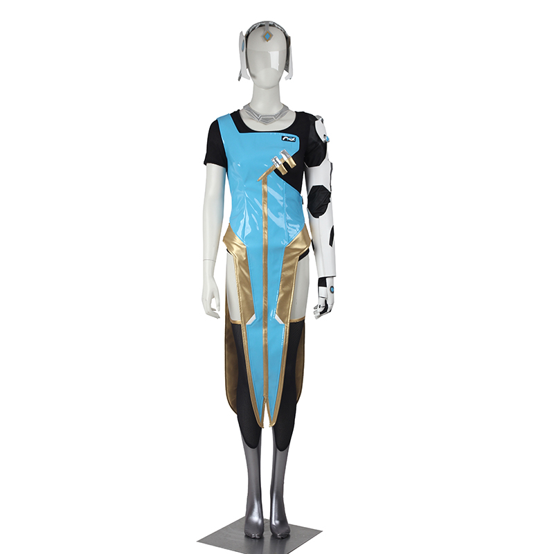 Symmetra Cosplay Costume Game Hero Symmetra Costume Full Set Adult Women Halloween Cosplay Costume Party Custom Made