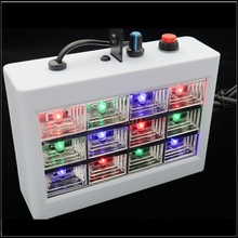 AC110-240V 15W Voice Control Led Stage DJ Lights Strobe Ball Disco Flash Light RGB Club Party Stage Effects For The Stage party