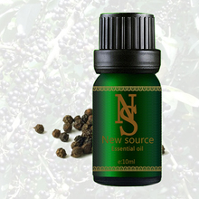 Free shopping Pure plant black pepper essential oil essential oil 10ml stimulate the mind carminative exhaust Z17(China)