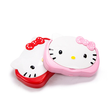 Hello Kitty Handheld Pocket Solar Calculator + Mirror &  Comb General Purpose 12 Digit Display Calculator, Shipping No Battery