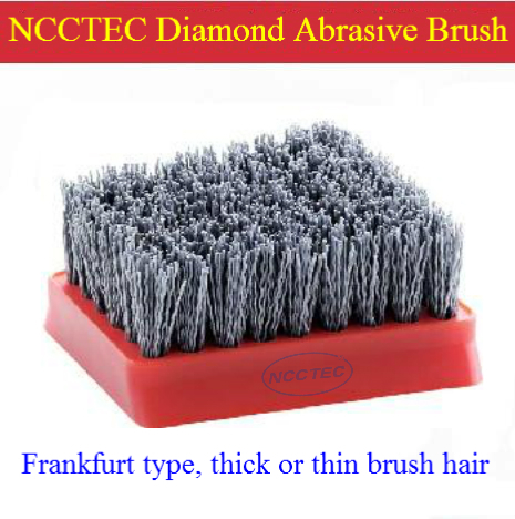 NCCTEC Frankfurt metal abrasive brush FREE shipping | iron antique renovation brush for stone | thick or thin brush hair<br>
