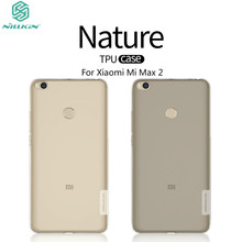 Xiaomi Mi Max 2 Case 6.44'' NILLKIN Nature Clear TPU Transparent Soft Back Cover Case For Xiaomi Mi Max2 Max 2 Protective Cover
