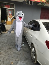 Grey dolphin  Mascot  Character Costume Adult real picture  freeshipping cosplay   free shipping Christmas  Halloween party