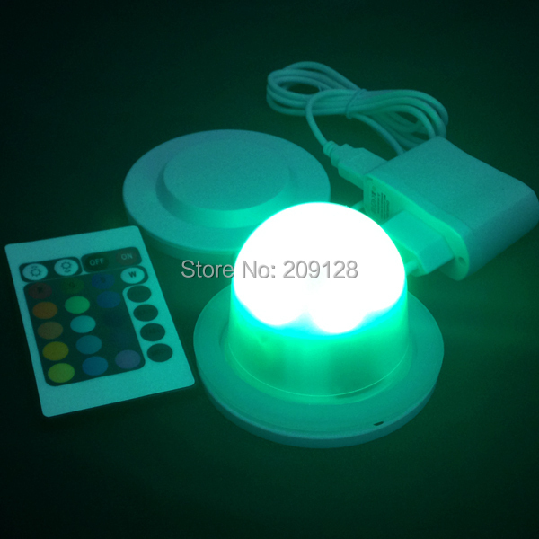 Led rgb light lamp with battery rechargeable<br>