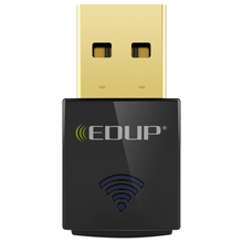 EDUP mini 5ghz usb wifi adapter 600mbps 802.11ac wifi receiver Dual Band USB Ethernet Adapter Network Card for Computer PC