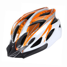 Ultralight Cycling Helmet Road Bike MTB Helmet Riding Bicycle Helmet - Orange Men