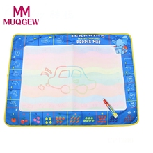 Baby Kids Water Drawing Painting Picture Water Writing Mat Board Magic aqua doodle Pen Doodle Toy Board Gift Christmas 80X60cm