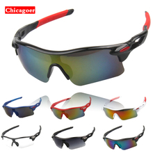 UV400 Cycling Glasses Eyewear MTB Mountain Bike Goggles Anti-Abrasion Sport Sunglasses 12 Color Cycling Sunglasses For Women Men(China)