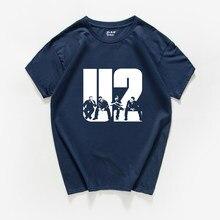 103 Nuevo 2018 U2 diseño de manga corta de verano de los hombres T camisa  Camiseta 2c1e8d0672a5b