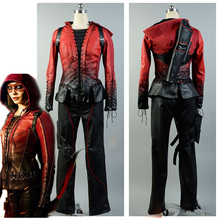 Green Arrow Oliver S4 Thea Queen Red Speedy Cosplay Costume Outfit Suit Uniform