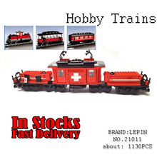 Lepin 21011 1130Pcs Technical Series The Medical Changing Train Educational Building Blocks Bricks Toys for children gifts 1018(China)