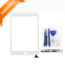 ALANGDUO Tested Tablet Touch Screen for ipad mini 1 2 Digitizer Front Glass Lcd Panel no ic for Apple ipad mini 1 2 Replacement