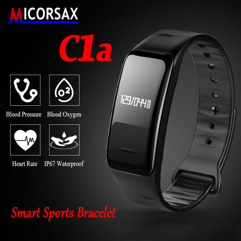 Bluetooth Smart Band Blood Pressure Heart Rate Monitor Activity Wristband Fitness Bracelet Tracker watch Waterproof pk mi band 2