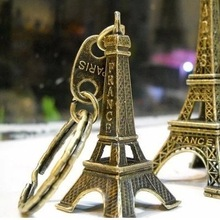 Torre Eiffel Keychain Tasti All'ingrosso Souvenir Paris Tour Retro Classic Decorazione Portachiavi Holder Per Le Donne Regalo