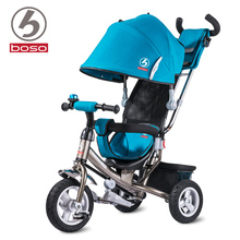 Boso baby tricycle high quality children tricycle with non inflatable rubber wheels fashion baby walker baby bike
