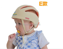 2016 Hot Sale Anti-collision Protective Hats Baby Toddler Caps Baby Safety Helmet Size Adjustable 3color in stock(China)