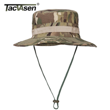 TACVASEN Army Men Tactical Sniper Hats Camouflage Boonie Hats Nepalese Cap Men's Military Fish Hats Hunt Accessories TD-JNSZ-014