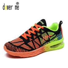 Outdoor Light running shoes For Men Women Sneakers music rhythm men sport sneakers wholesale breathable air mesh athletic shoes