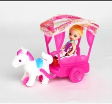 15 Style New Inertia Power Carriage For Barbie The 1/6 Kelly Doll Accessories Children's Gift Toys (ONLY DOLL CAR) AB85-AB99