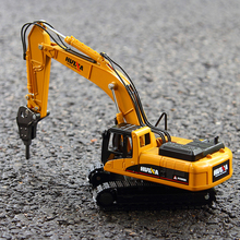 car mini alloy construction vehicle engineering  Excavator dump truck toy For Children High Simulation 1:50